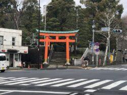 変わった名前の神社「穴八幡」は商売繁盛、財運金運上昇の「一陽来復」の御札で有名