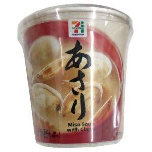 あさりのカップ味噌汁