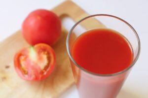 GABAを多くふくむトマトとトマトジュース
