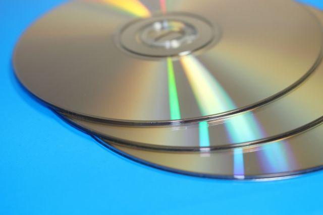DVD3枚の画像、ファイナライズしていないDVDがみれた